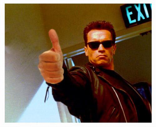 Arnie Thumbs Up